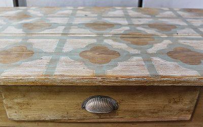 Transformar una mesa tocinera con Chalk Paint