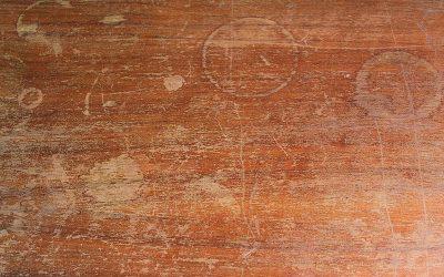 Recuperando un mueble con marcas de vasos