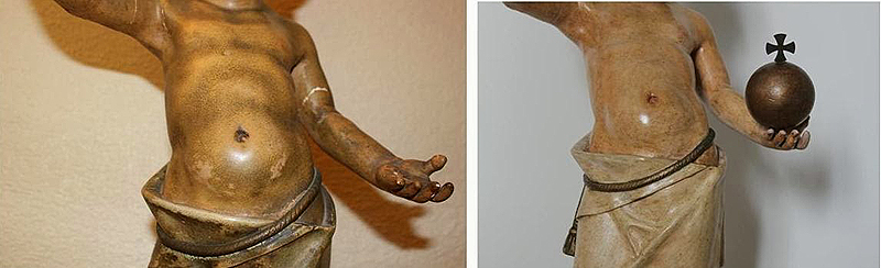 restauracion liempieza escultura