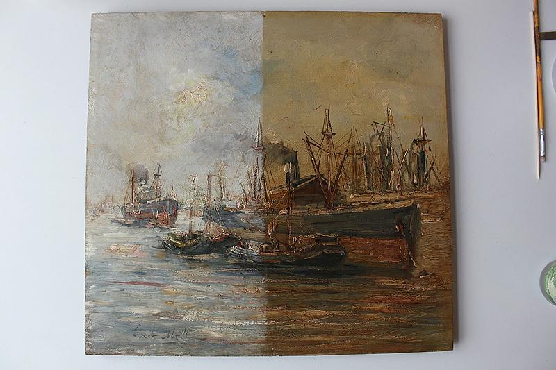 restauradores asturias pintura