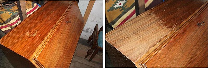 restaurando mueble