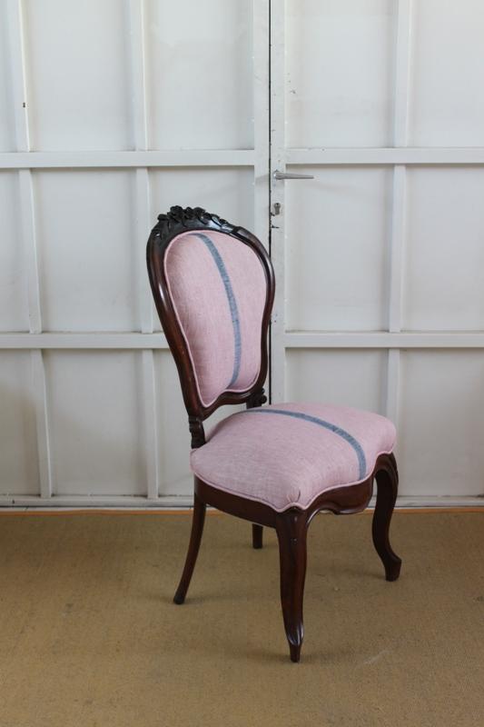 Dominique silla isabelina s xix - Restaurar sillas antiguas ...