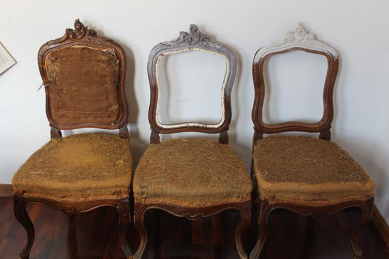 Dominique as se transforman unas sillas isabelinas - Restaurar sillas antiguas ...
