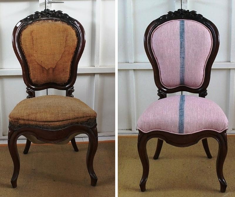 ¿Tienes una antigua silla de la familia? Hazla muy tuya