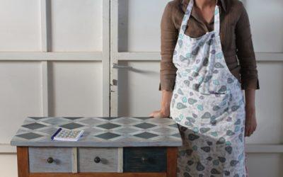 ¿Cómo decorar una mesa con diseño geométrico? Algunas pistas!