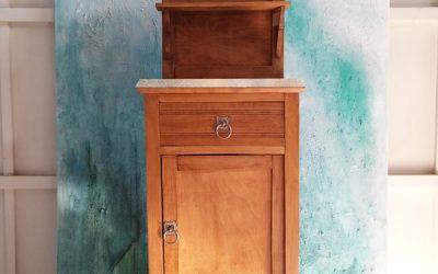 Dominique muebles for Mesitas de noche antiguas