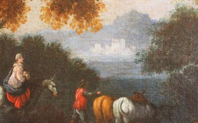 La importancia de un género menor. Restauración de un paisaje holandés del s. XVII
